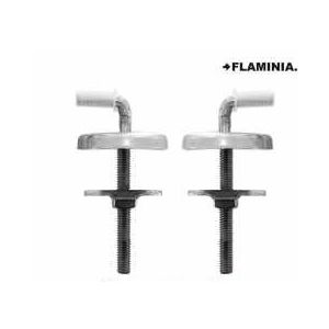 FLAMINIA STANDARD CLOSE TOILET SEAT HINGES  CWKIT