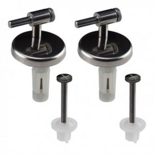 GALASSIA 5227 TOILET SEAT HINGES  FITTINGS FOR M2 HINGES