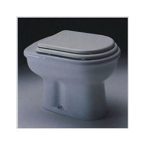AXA SCILLA toilet. Seat and Cover Not Original Material: Lacquered MDF